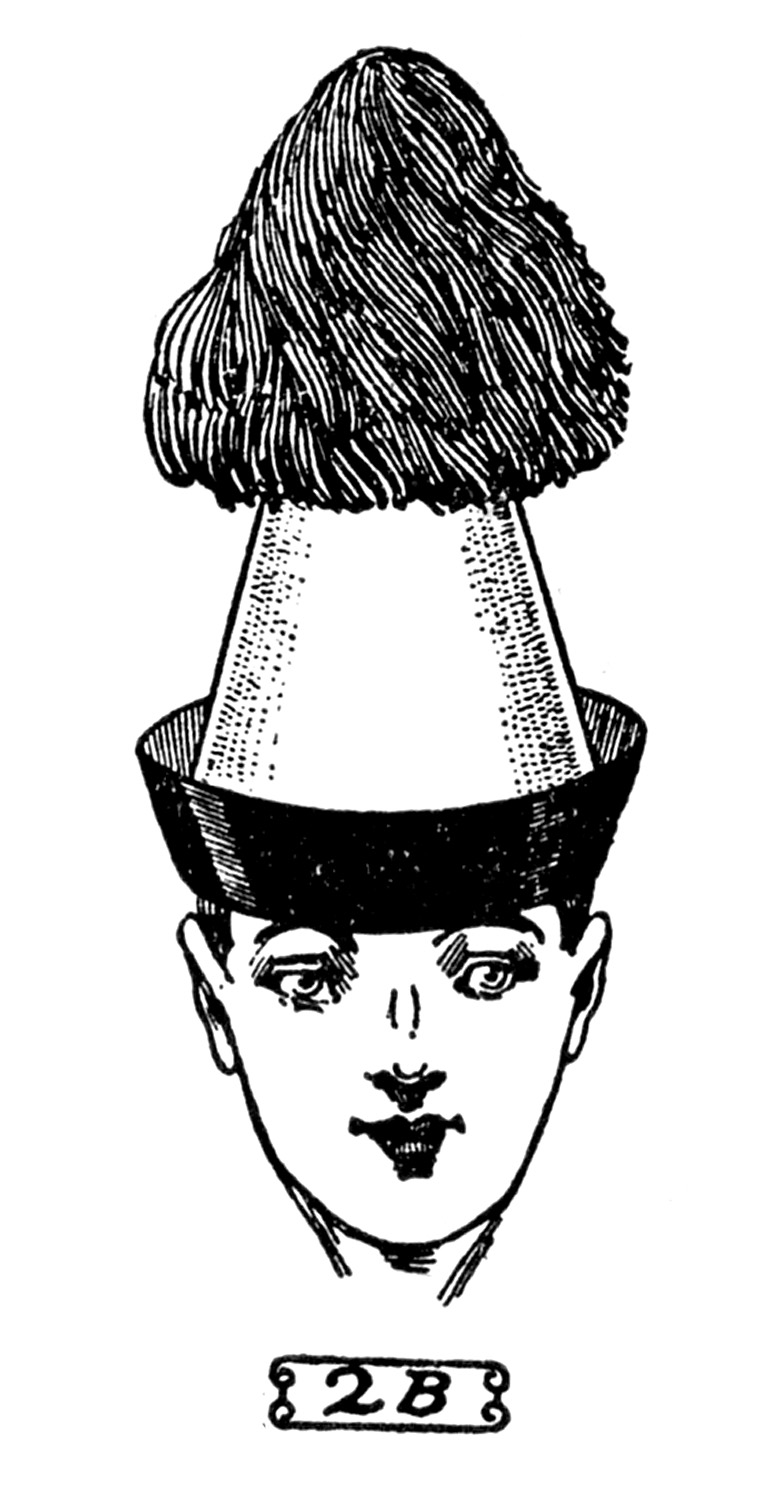 vintage hat clipart - photo #41