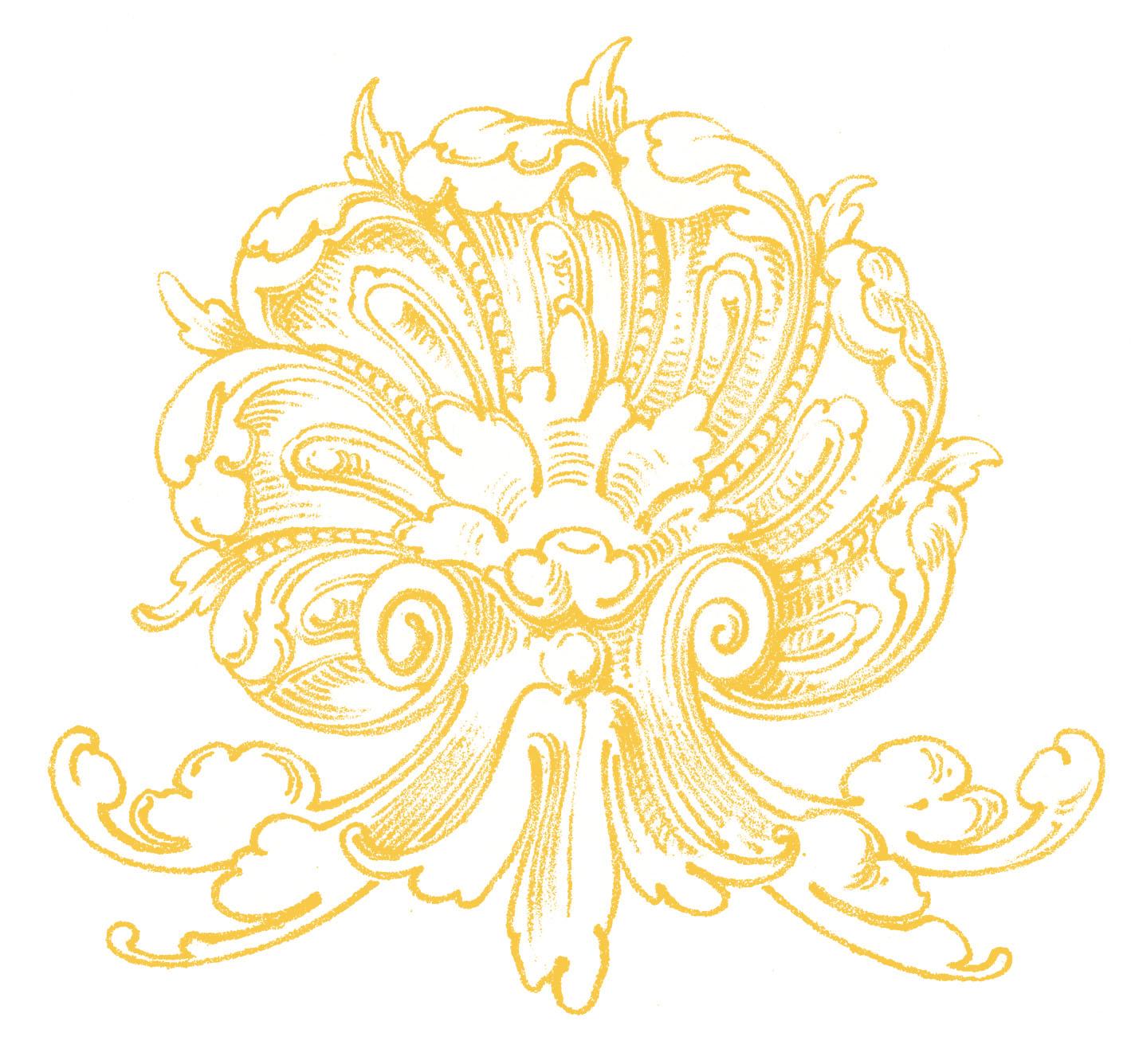 Wedding Seashell Clipart Vintage ornamental clip art