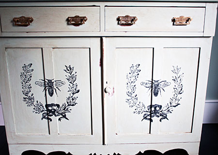 DIY Painted Furniture Project cynthiaweber.com
