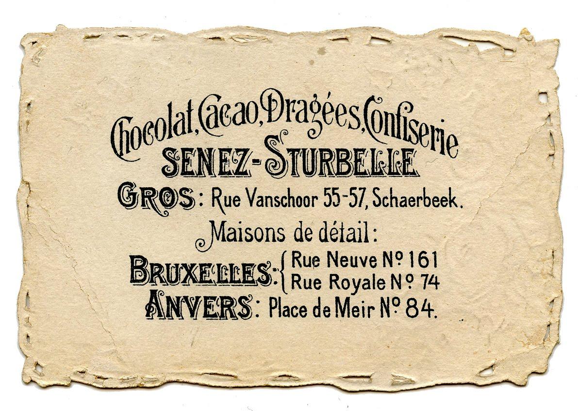 Vintage French Ephemera Download Chocolat The Graphics