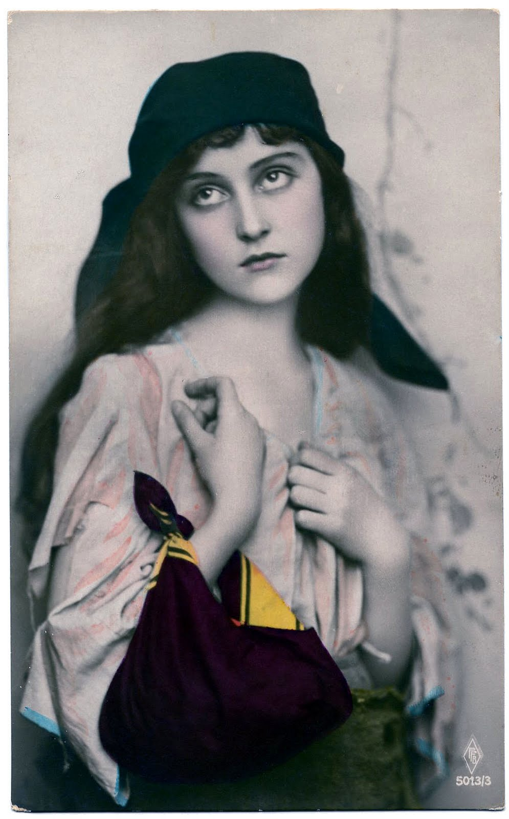 Vintage Graphic Image - Amazingly Beautiful Gypsy - The ...