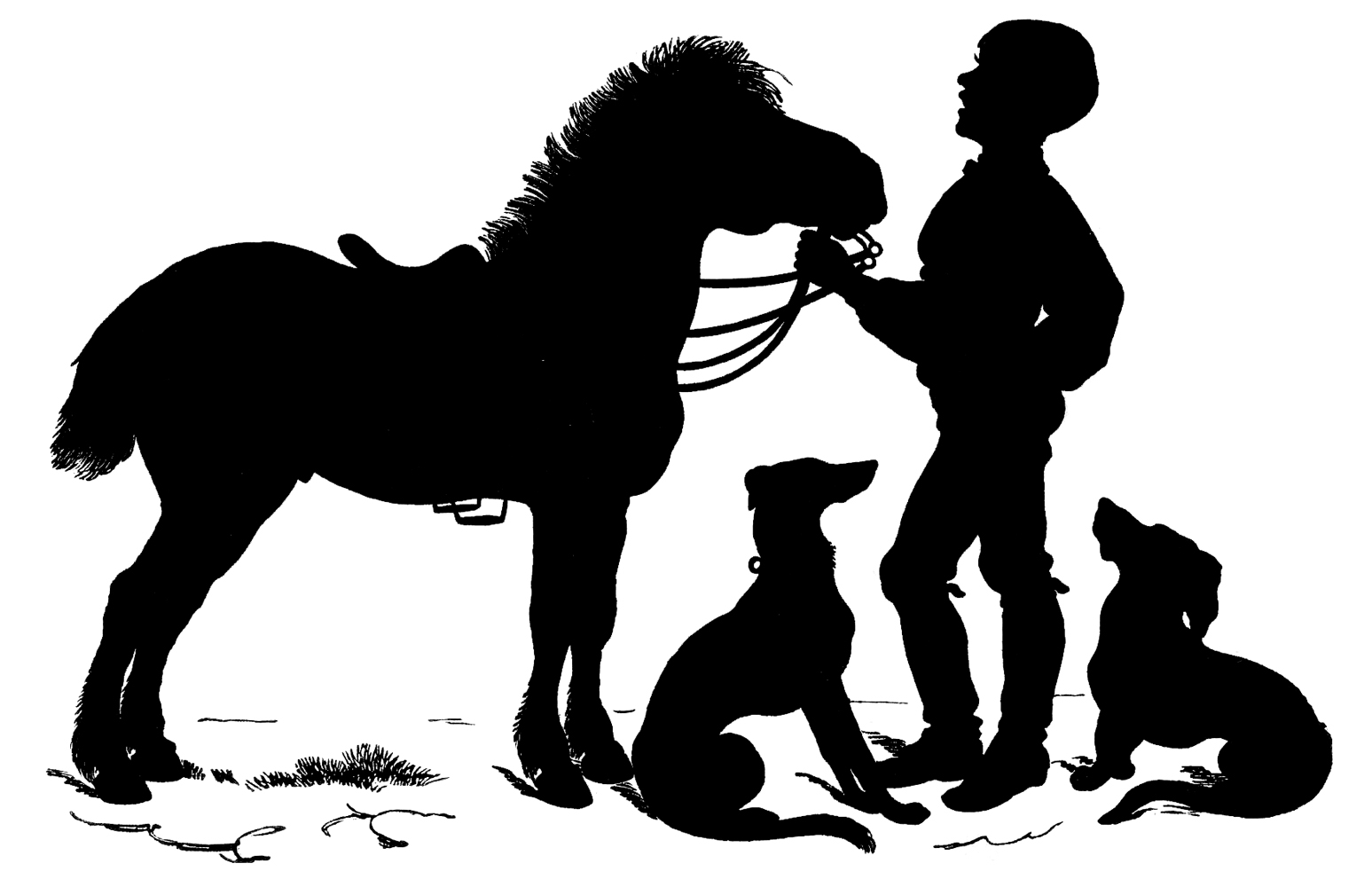 horse clip art free silhouette - photo #13
