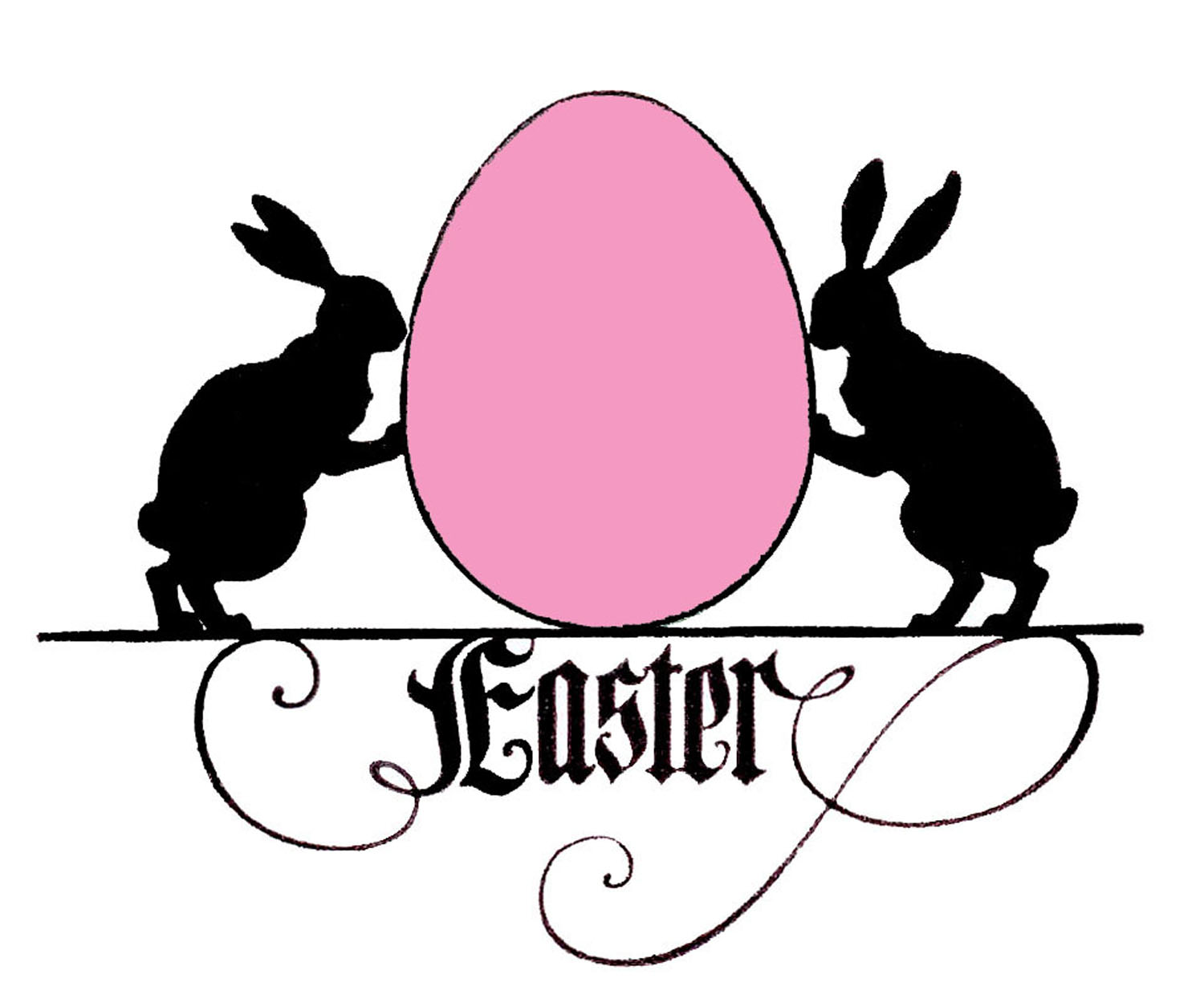 Funny Easter Bunny Clip Art