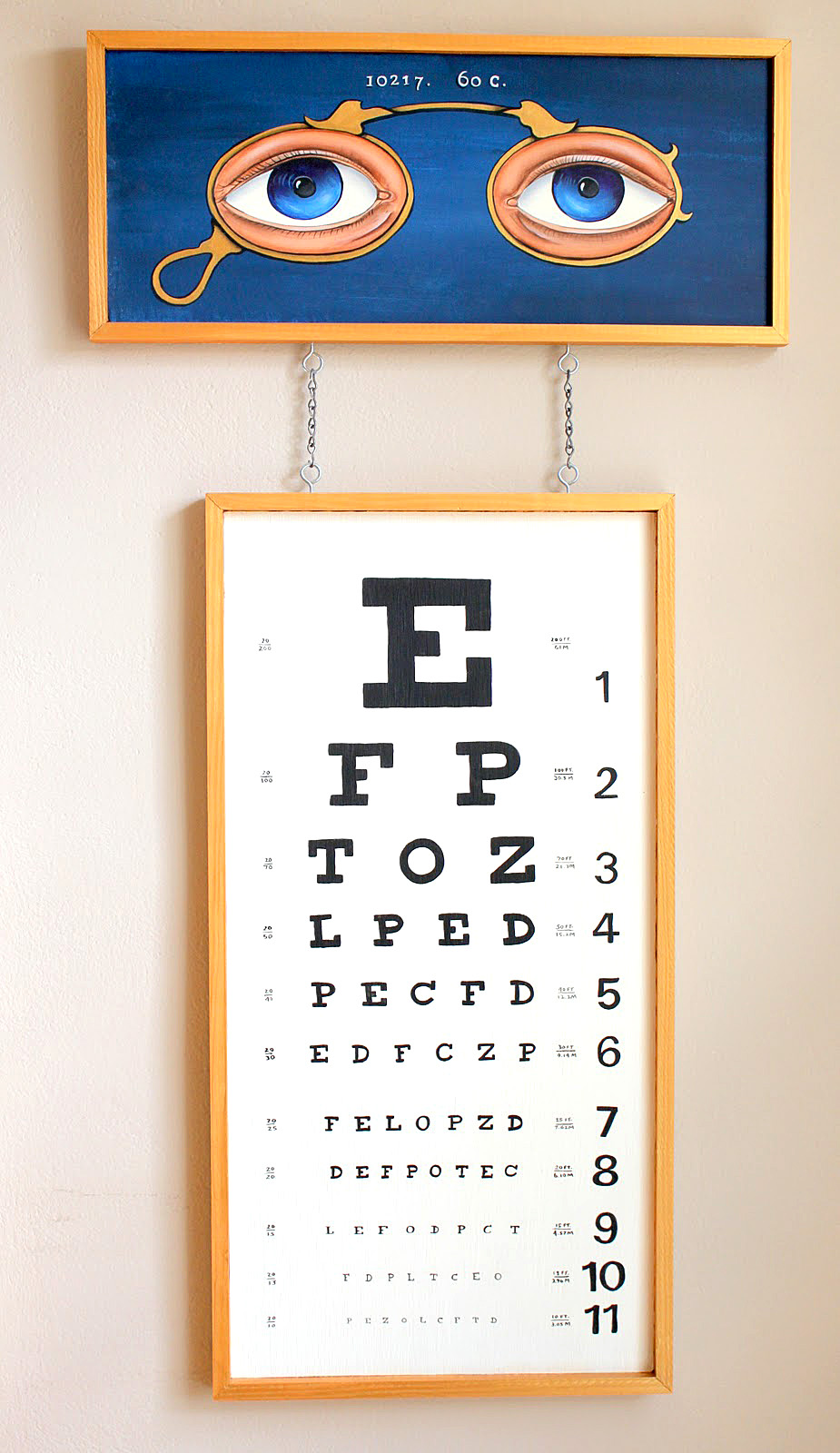 Brag monday painted eye chart halloween treat bags the brag monday painted eye chart halloween treat bags nvjuhfo Image collections