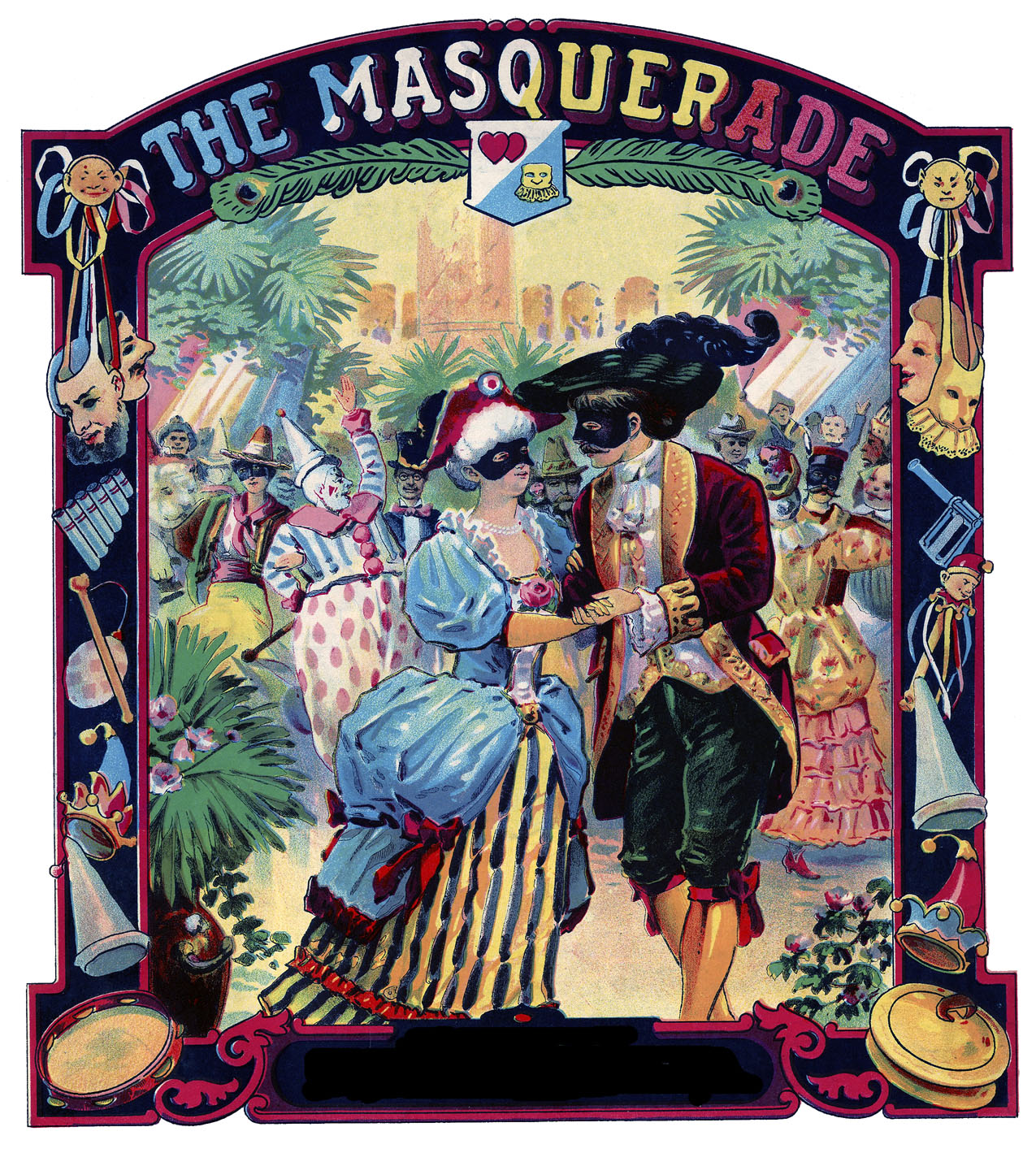 Old Fashioned Wedding Songs: Remarkable Masquerade Ball