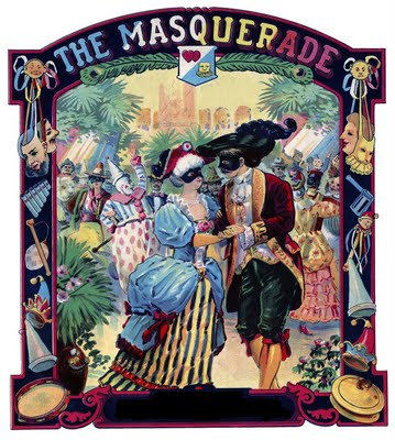 Vintage Printable - Remarkable Masquerade Ball - The Graphics Fairy