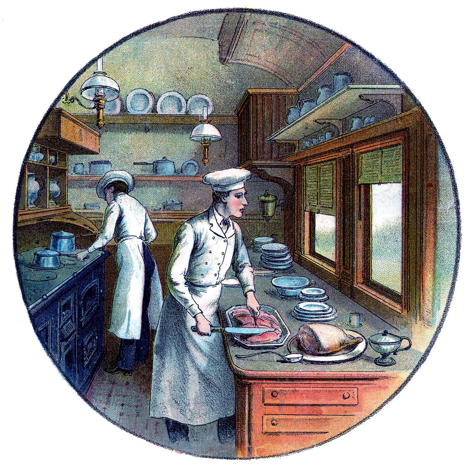 Vintage Cooking Images 2