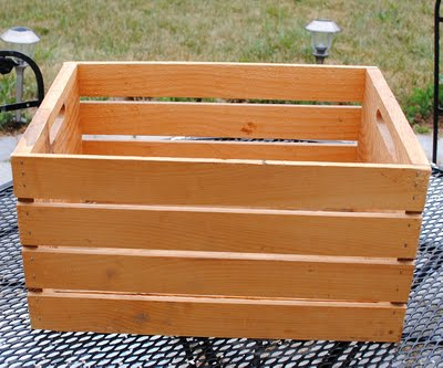 Crafty Project - French Tool Crate - DIY - The Graphics Fairy