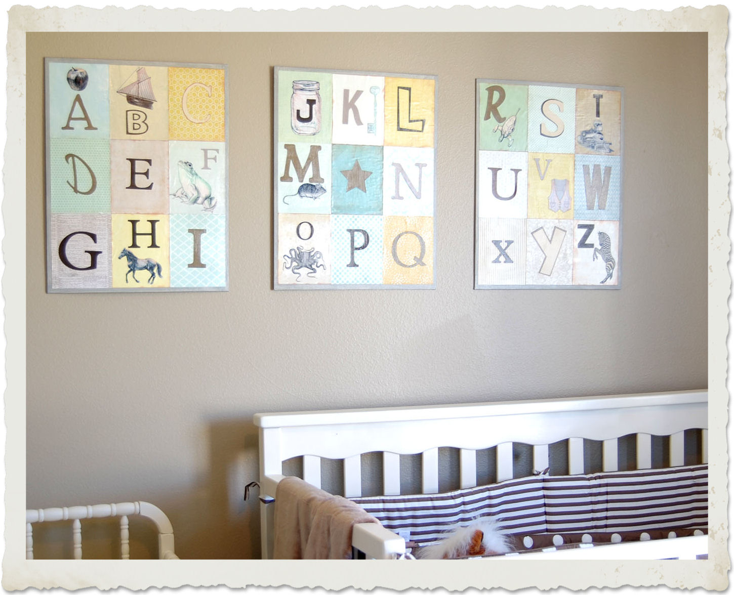Nursery room wall decor the graphics fairy for Baby room decoration letters