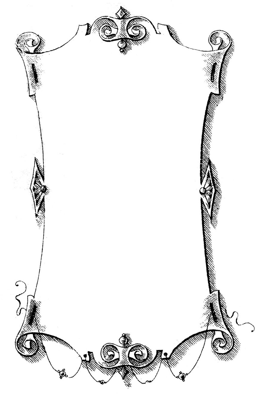 free victorian clip art frames - photo #33