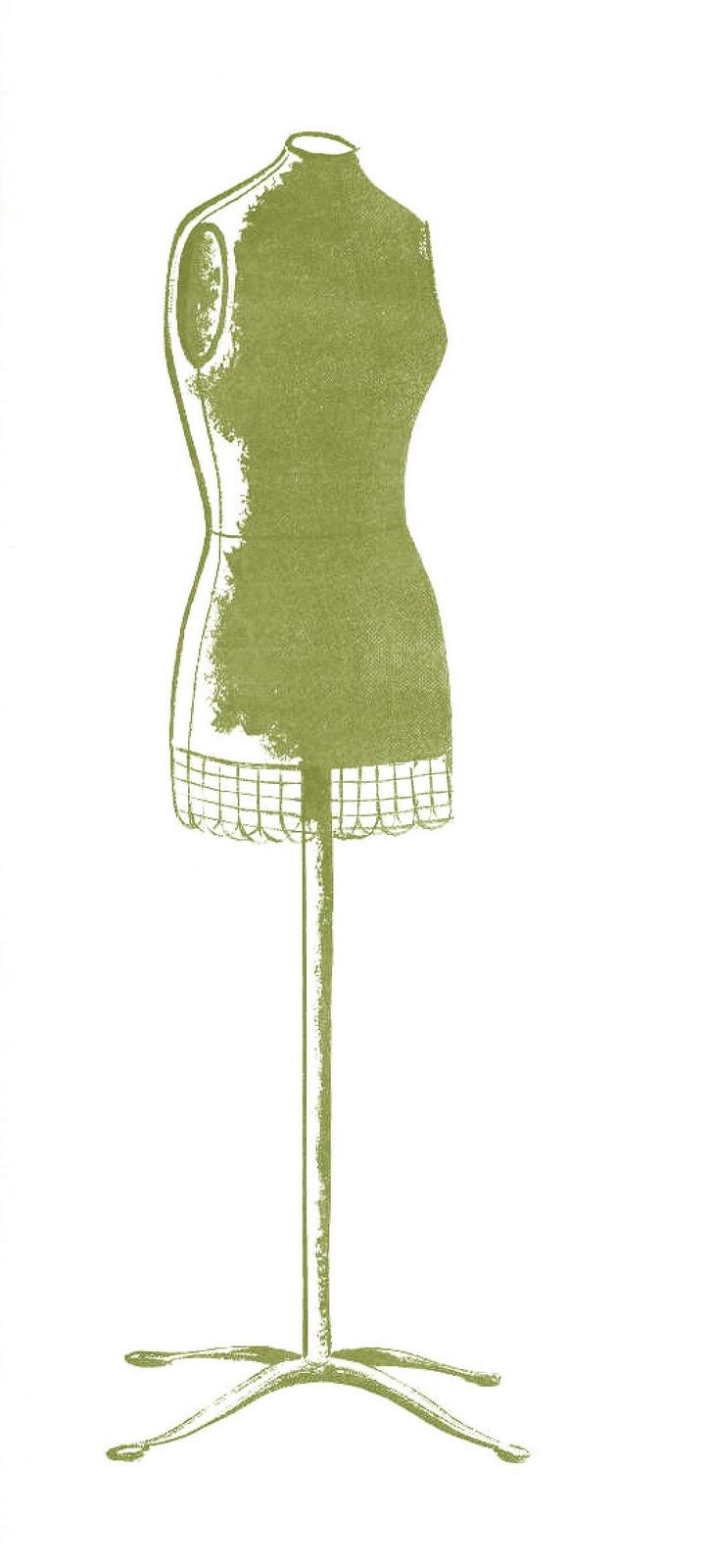vintage dresses clipart - photo #6