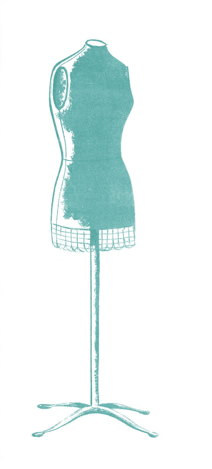Retro Clip Art Cute Dress Forms The Graphics Fairy