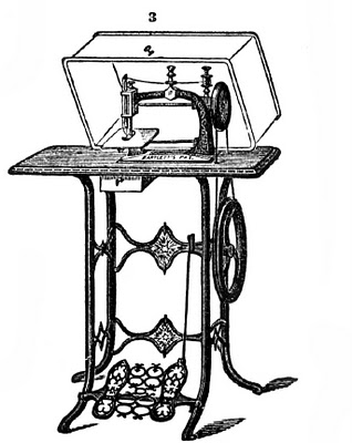 Free Vintage Clip Art Dress Forms And Sewing Machines on italian architecture