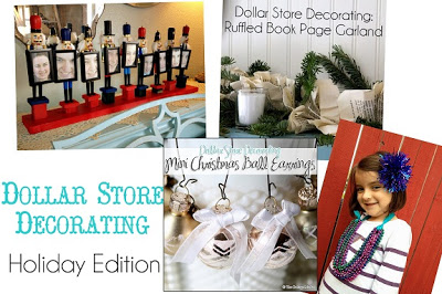 Dollar Store Decorating Link Party - Holiday Edition - The Graphics Fairy