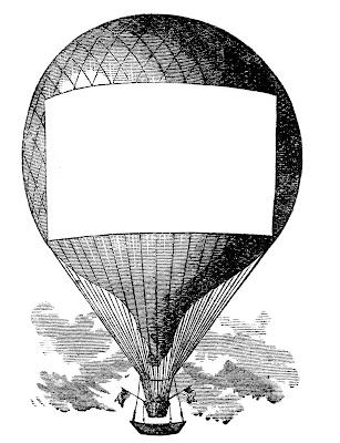 Advertising Clip Art - Hot Air Balloon - Steampunk - The ...