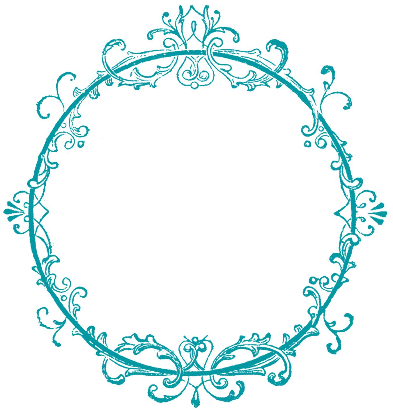 Frame Design Line Art : Vintage clip art old ink label lacey graphic frame