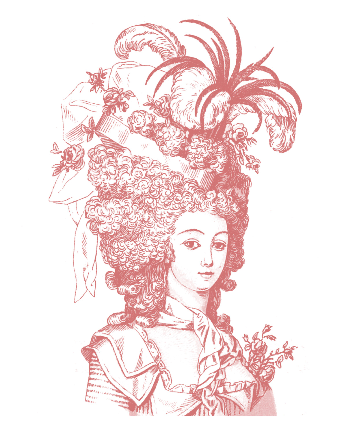 Vintage Clip Art Marie Antoinette Ish The Graphics Fairy