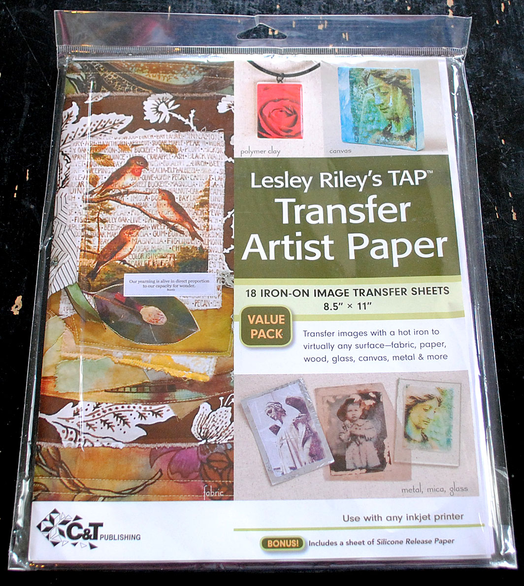 iron transfer paper In a nutshell, iron-on transfers are images that can be impressed on fabric on one side is paper, and on the other is the image that will be ironed on and transferred in reverse after placing the transfer paper on the fabric and running over the back of the paper with an iron, the image is transferred by heat to the fabric.