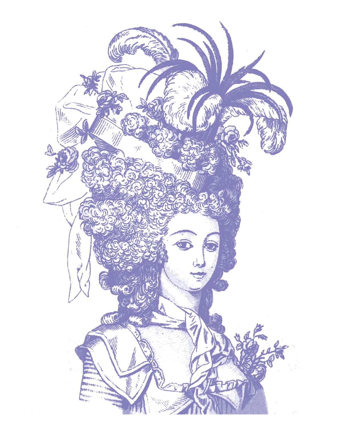 Vintage clip art marie antoinette ish the graphics fairy for Graphics clipart
