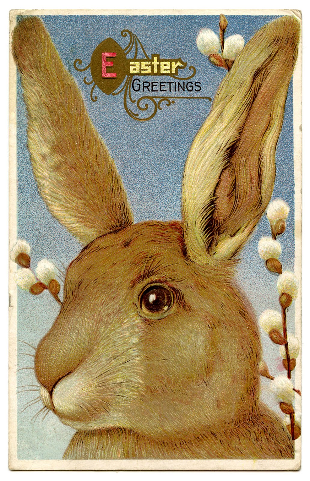 vintage easter bunny - photo #16