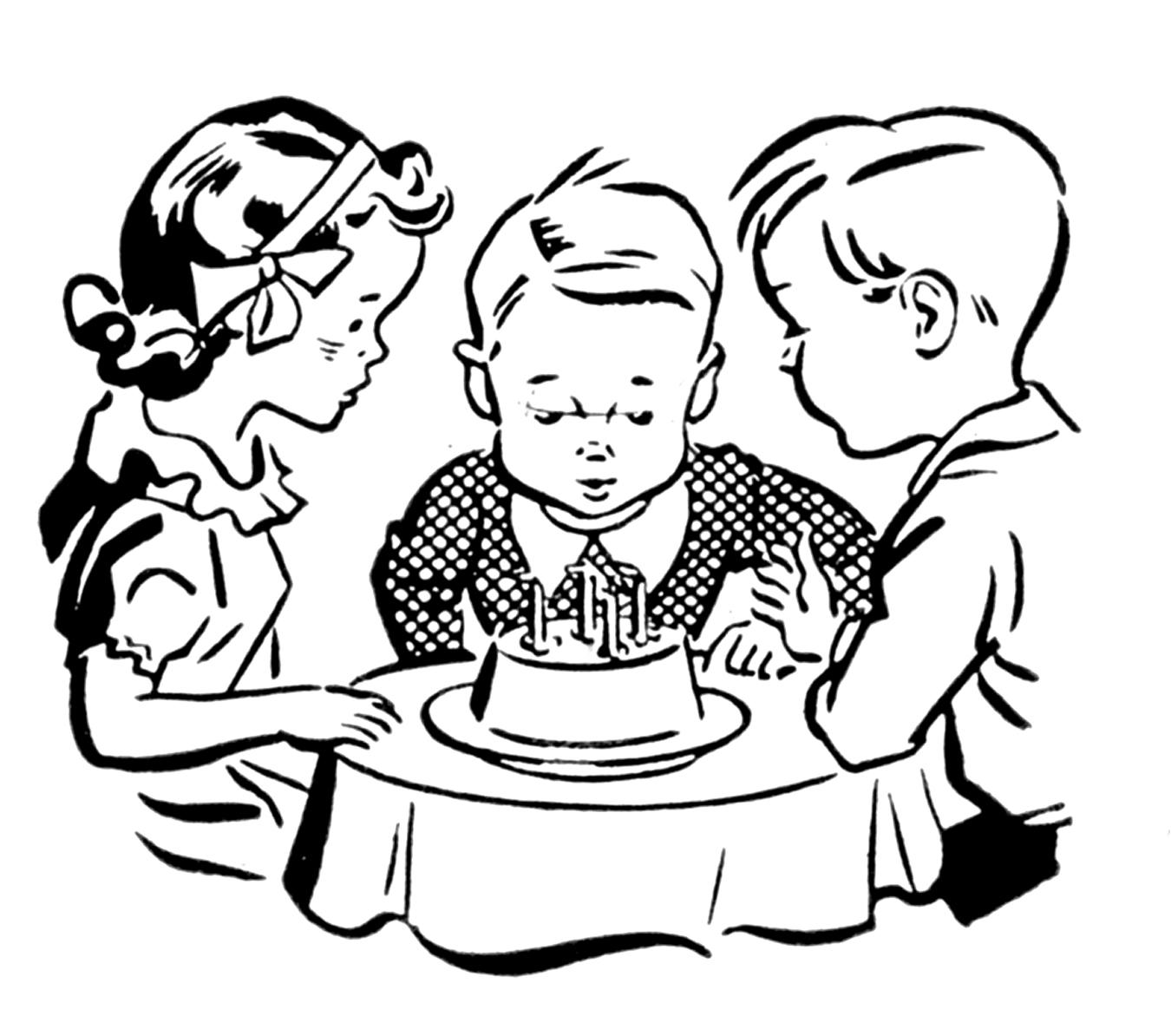 Retro Clip Art - Cute Kids - The Graphics Fairy: thegraphicsfairy.com/retro-clip-art-cute-kids