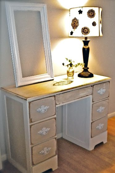french chic painted desk