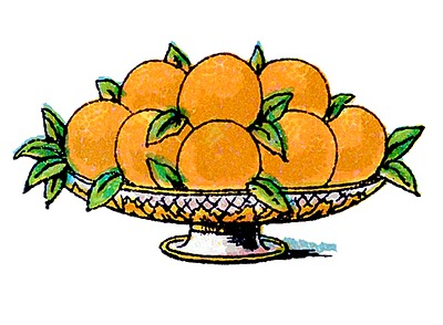 Thursday is Request Day - Windmill Game Card, Oranges, Period Fashions, Stack of Books
