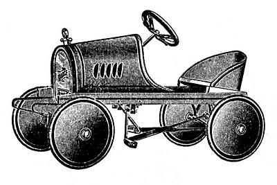Vintage Pedal Car Picture