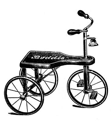 Vintage Tricycle Image
