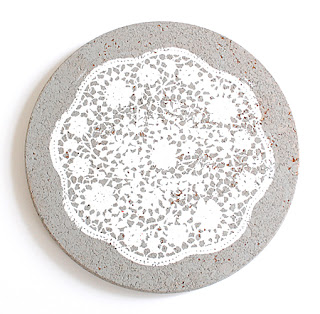 DIY - Make a Painted Doily Cork Board