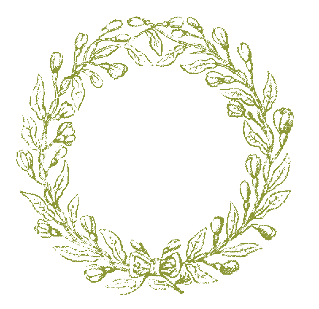 Vintage clip art lovely delicate wreath frames the graphics fairy