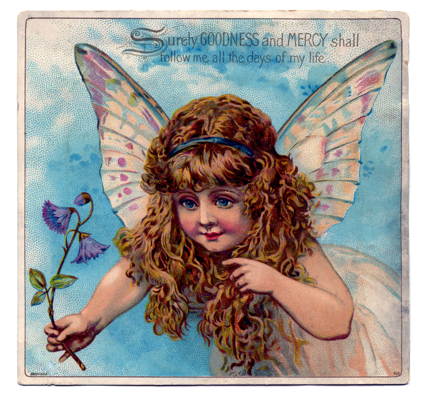 Vintage Graphic - Exceptionally Pretty Fairy Child - The Graphics ...