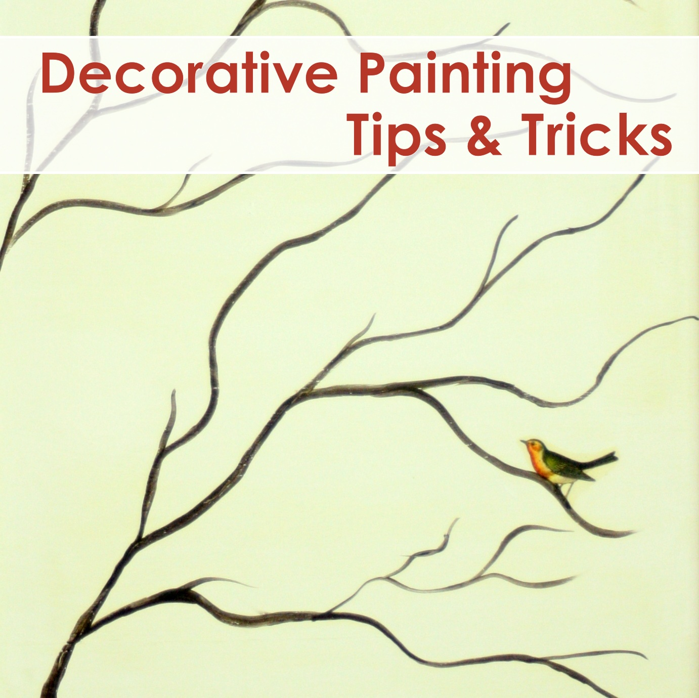 Decorative Painting Tips Tricks The Graphics Fairy