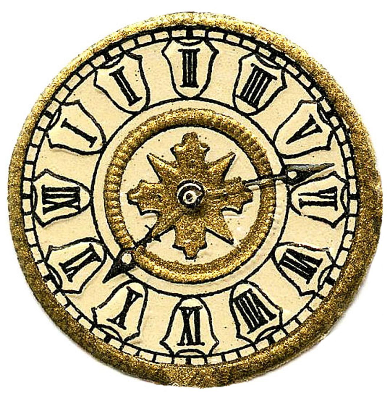 Vintage Clip Art - Scrap Clock Faces - Steampunk - The ...