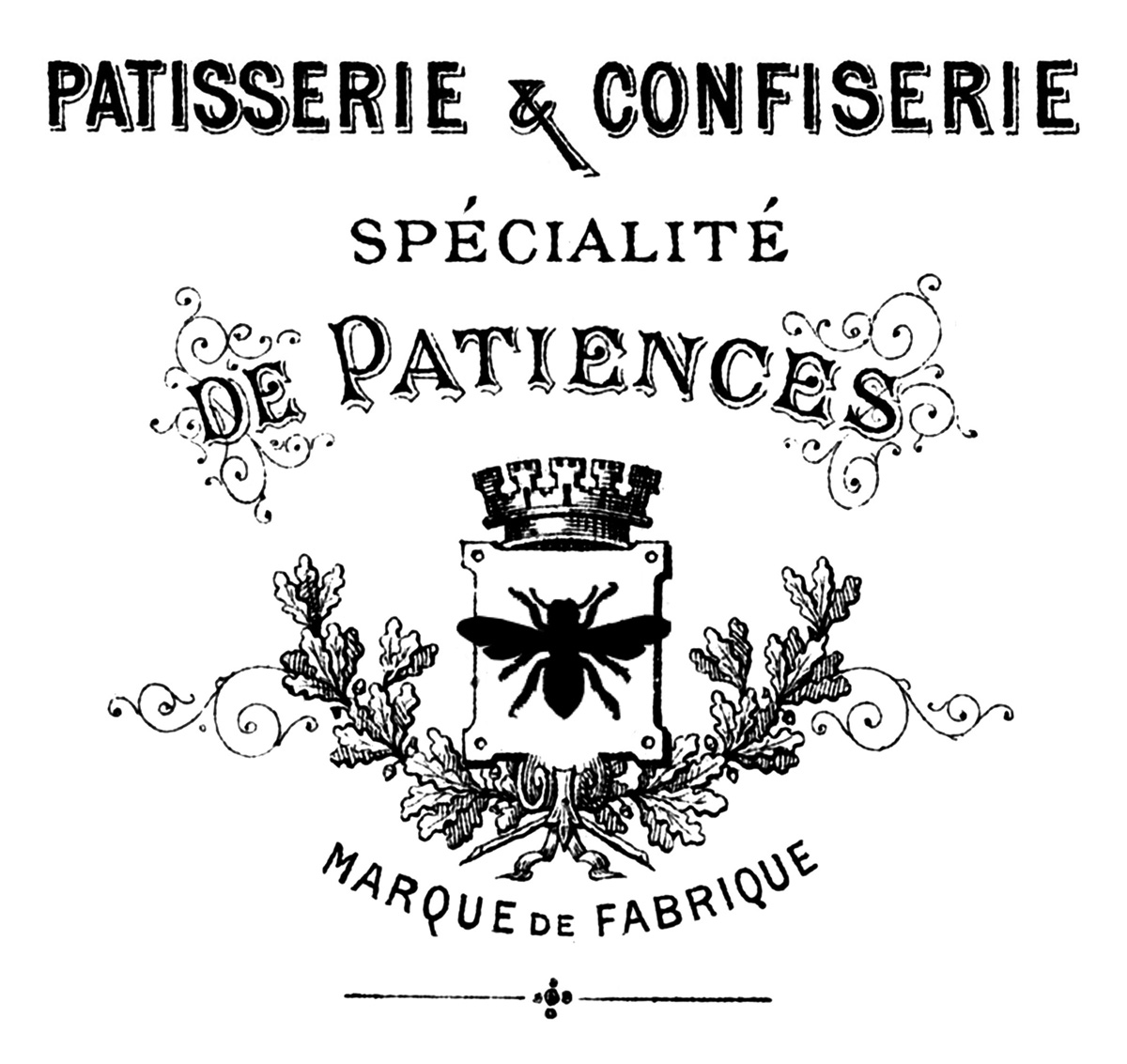 The Graphics Fairy: French Patisserie Sign
