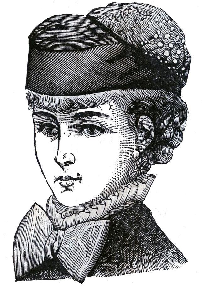 Free Clipart Black Women Wearing Hats Victorian Clip A...