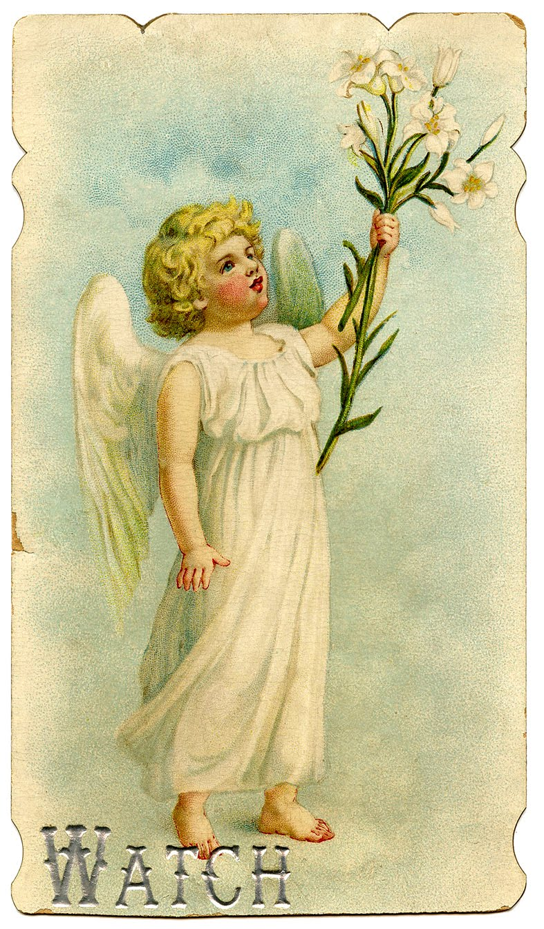 easter clip art sweetest vintage angel the graphics fairy