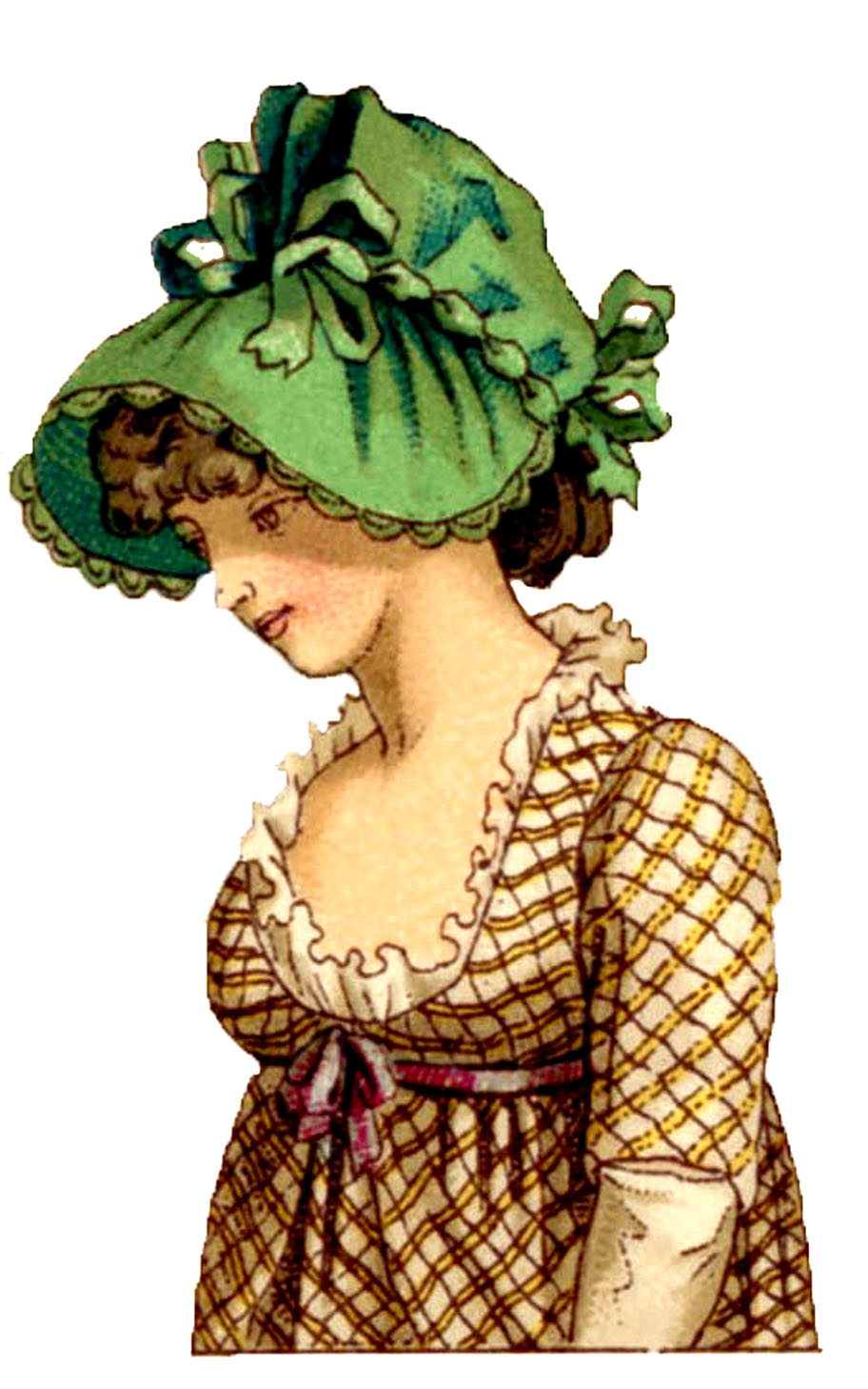 ... - Vintage Graphics - More French Costume Ladies - The Graphics Fairy: pinterest.com/pin/516084438521468369