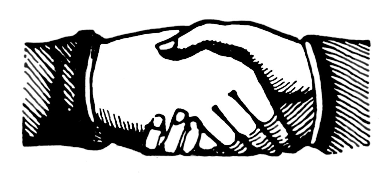 vintage clip art shaking hands victorian the clipart shaking hands free clipart shaking hands free