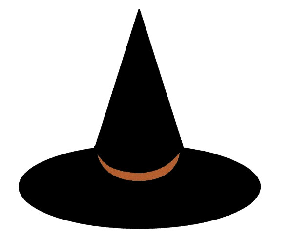 witch hat clipart - photo #38