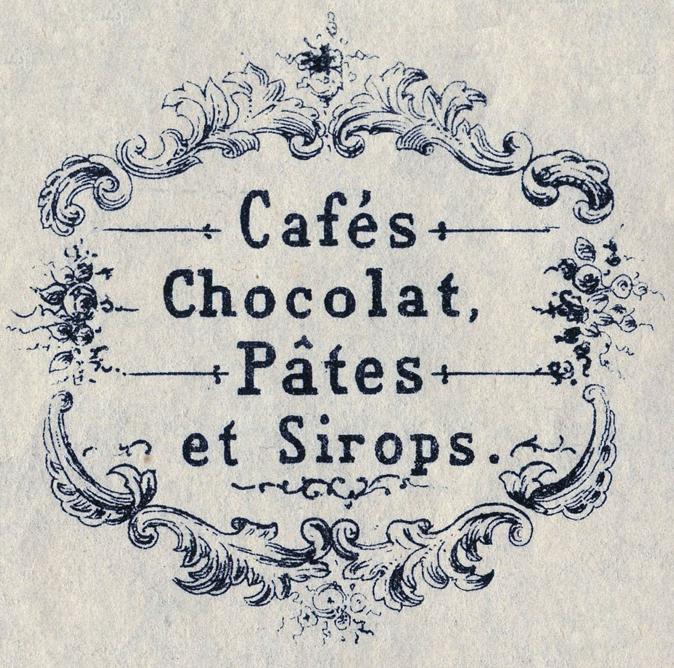 Vintage graphics fab french advertising cafe chocolat for Graphics fairy