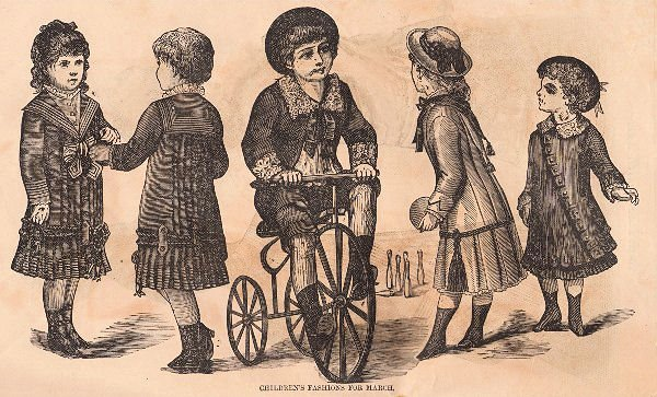 Victorian Children S Fashion Graphic The Graphics Fairy