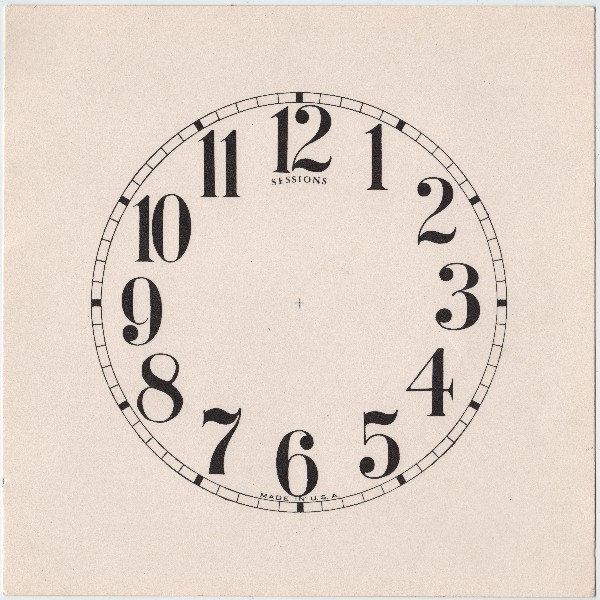 Marvelous Antique Clock Face Image The Graphics Fairy