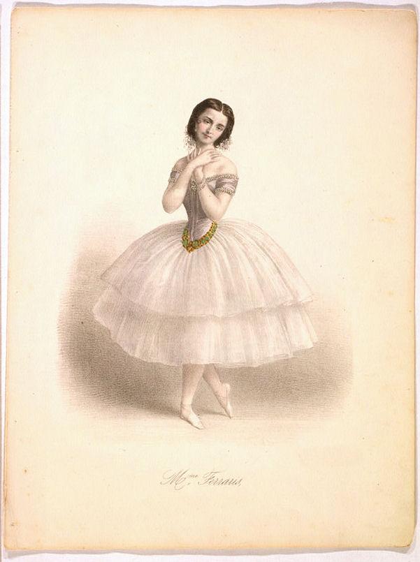 Antique Clip Art Amazing Ballerina The Graphics Fairy