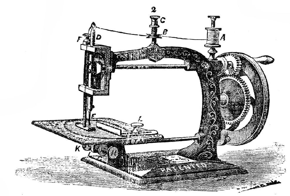 Free Vintage Clip Art Dress Forms And Sewing Machines The Cool Free Sewing Machines