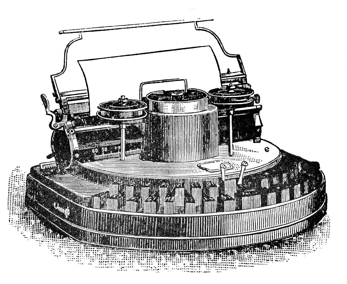 Free Vintage Clip Art Typewriters The Graphics Fairy