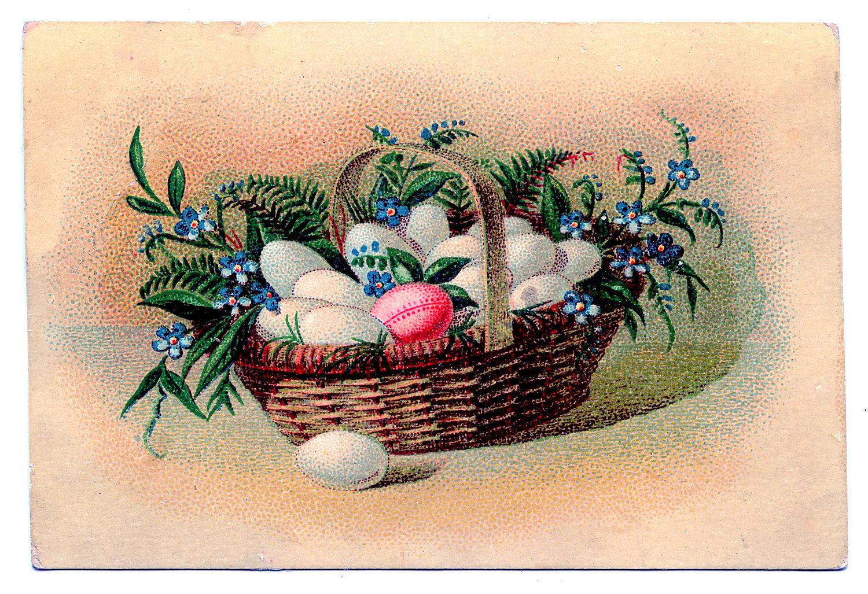 Lovely Wicker Easter Basket Image Of Basket Style