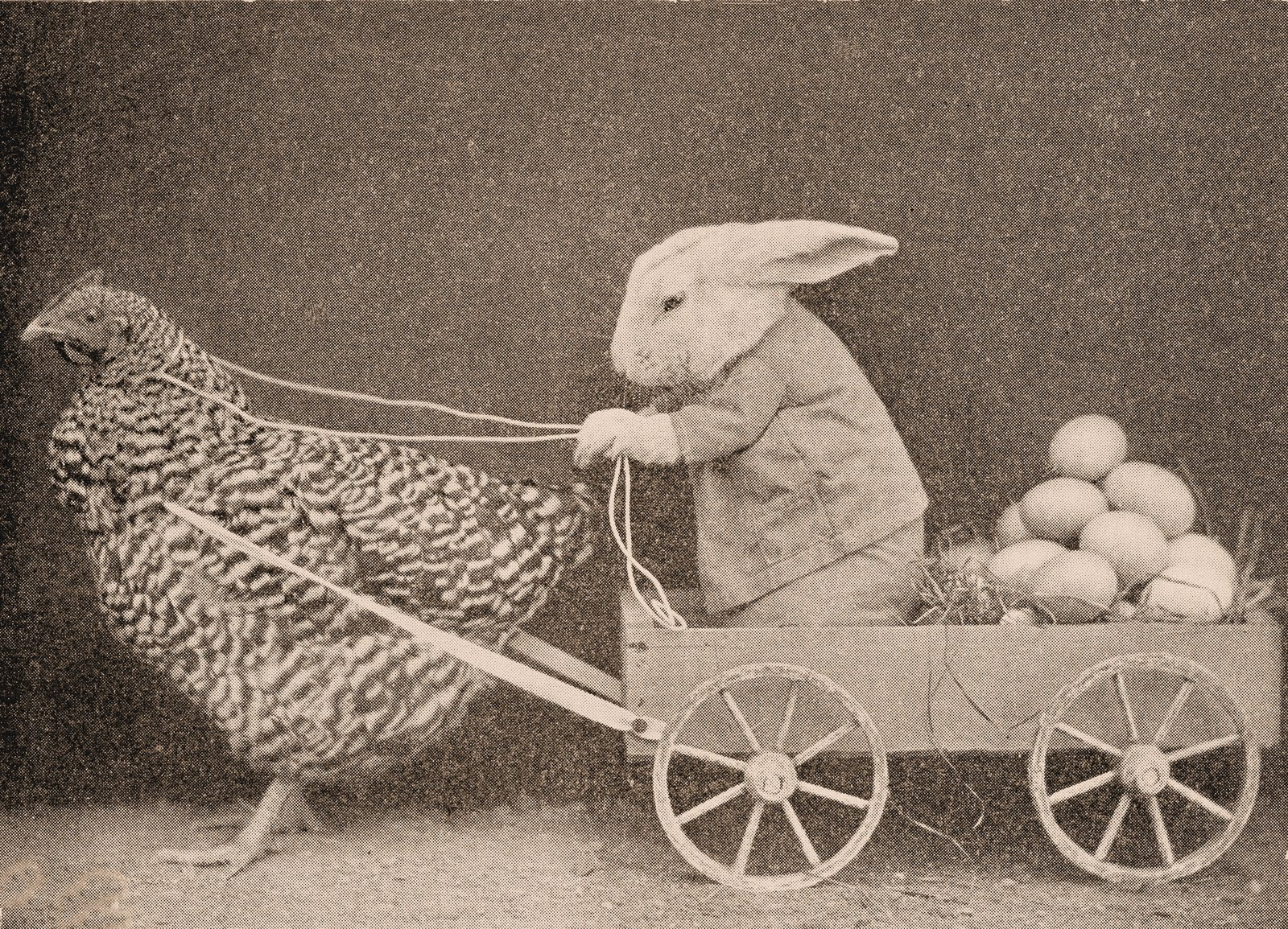 vintage easter bunny - photo #29