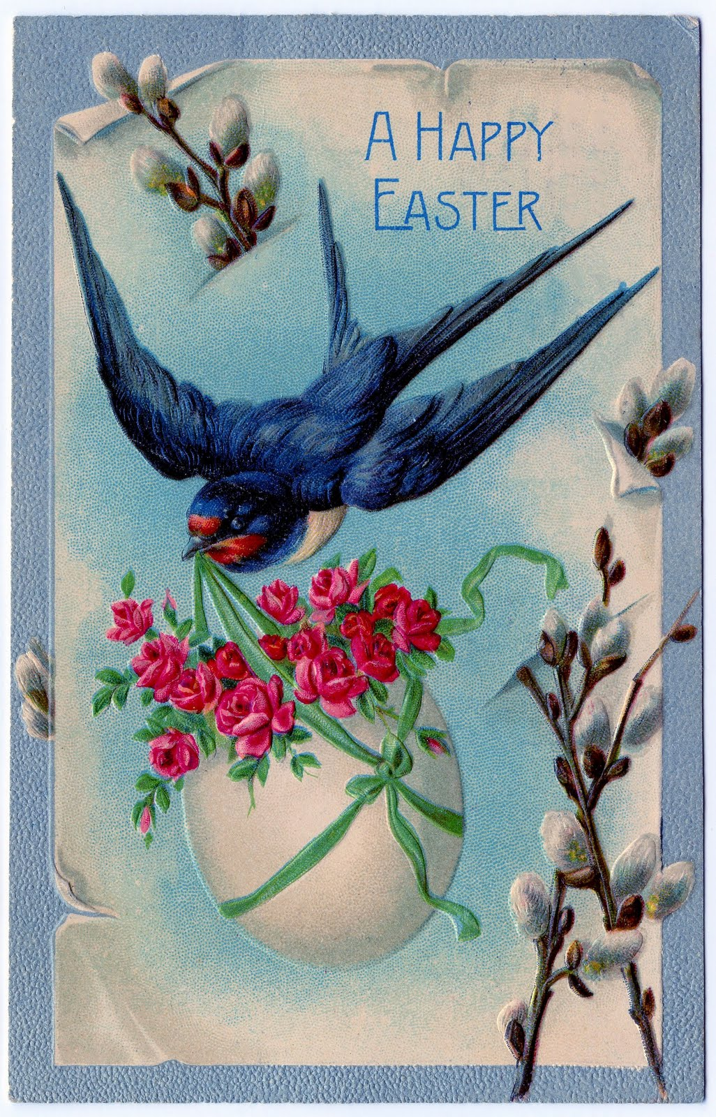 Vintage Clip Art 3 Fabulous Easter Cards The Graphics