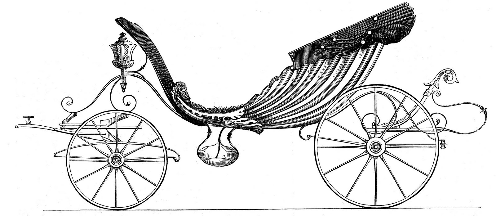 Cinderella Horse And Carriage Clipart | www.imgkid.com ...